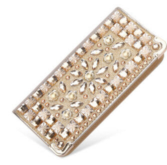 wallet for women wallets brands purse dollar price Diamond designer purses card holder coin bag female