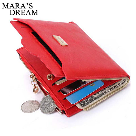Designer Slim Women Wallet Thin Zipper Ladies PU Leather Coin Purses Female Purse Mini Clutch Cheap Womens Wallets - Kristen Kim