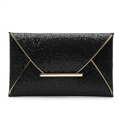 new fashion vintage sequined women envelope clutch hotsale ladies cell phone coin purses socialite evening bags