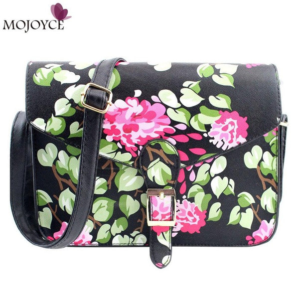 New Fashion Women Handbags Floral Print Women Messenger Bags Ladies Shoulder Bag Clutch Purse bolsas feminina