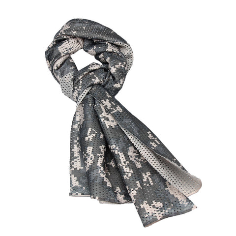 1 pc unisex Camouflage Scarf Outdoor Cycling Multipurpose Camouflage Scarf ManggeonNeckerchief Scarf#20