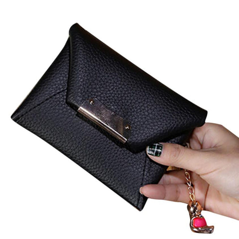 Fashion Women Leather Wallet Clutch Card Holder Purse Zero Wallet Phone Key - Kristen Kim