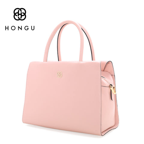 Genuine Leather Women Handbag Totes Simple Solid Color Litchi Pattern Pillow Bag Women's Handbags Female Shoulder bolsa
