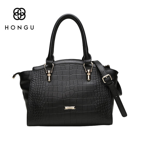 Luxury Genuine Cow Leather Women Totes Handbags Fashion Crocodile Bag Shoulder Messenger Crossbody Bags Female Handbag bag