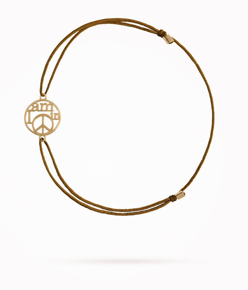 Armband MY LITTLE PEACE GOLD
