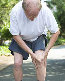 Knee pain due to arthritis and pain relief from Active650