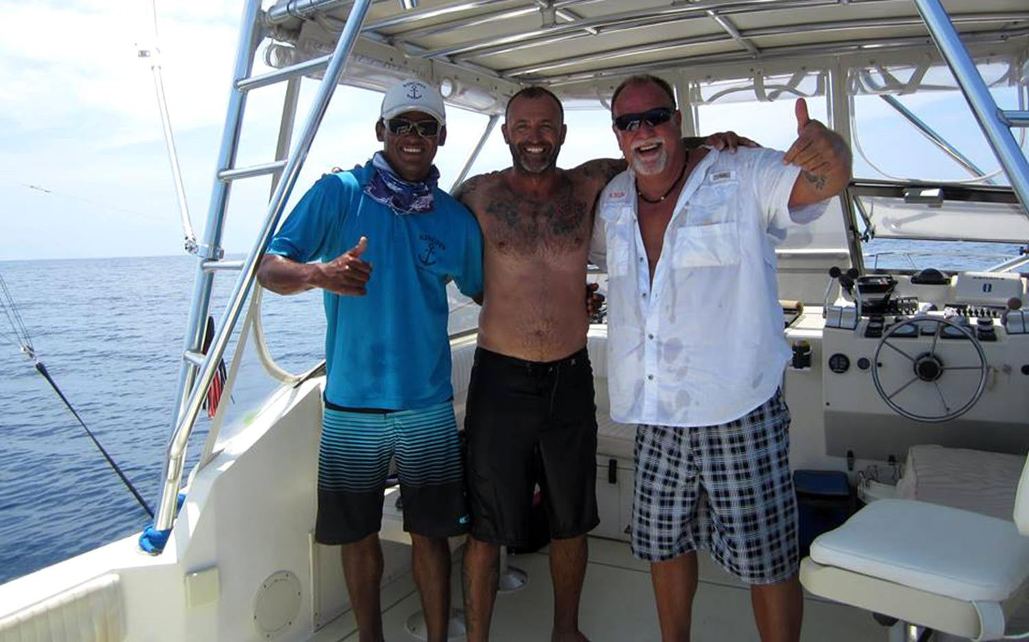 Captain Pete Arcieri - PLAYGROUNDS Costa Rica Yacht Rental, Luxury Ocean Adventures