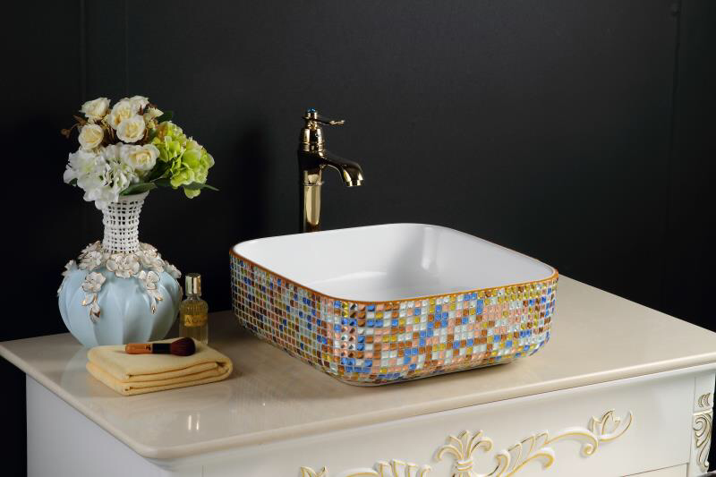 IN STOCK | MOSAIC BASIN | CRYSTAL DESIGN (ONLY 2 LEFT!)