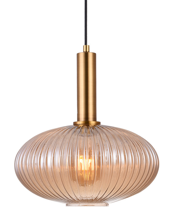 STOCK CLEARANCE | TINTED GLASS PENDANT LIGHT | JELLYFISH  | 30 x 32