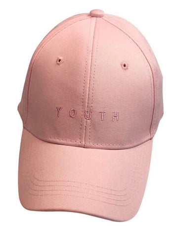 """Youth"" Rose Baseball Cap"
