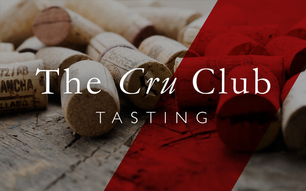 Valentine's Cru Club Tasting 8th of February 2017