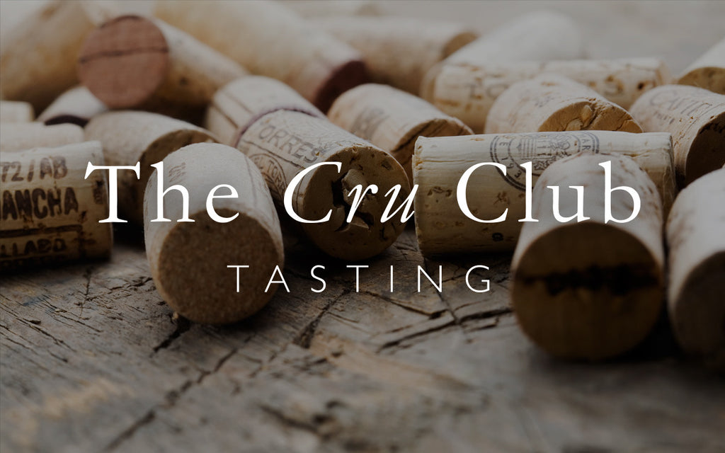 Cru Club Tasting 27th of April 2017