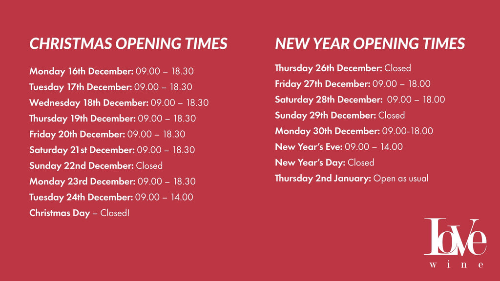 Christmas Shop Opening Times 2019
