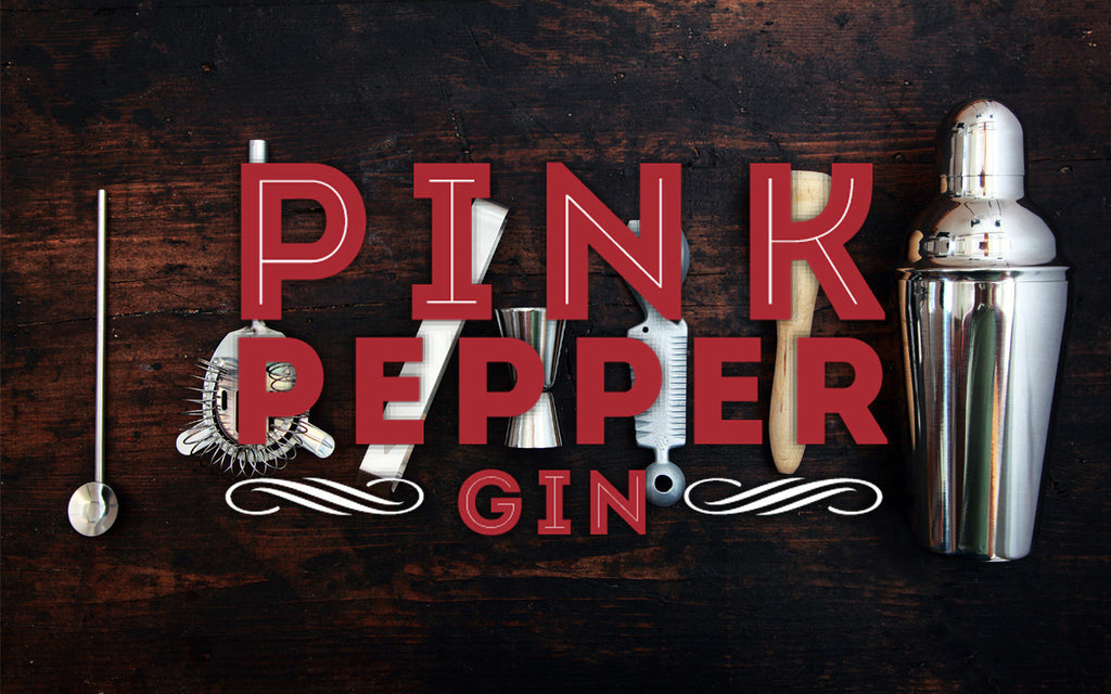 'From the horses mouth' Pink Pepper Gin
