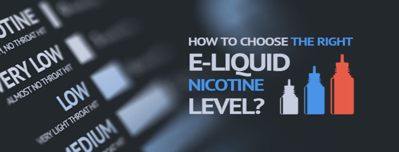 How to Choose the Right Nicotine Strength