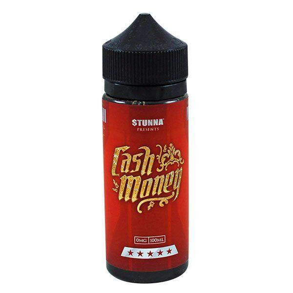 Cash Money E-Liquid by Stunna 100ml Short Fill