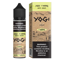 White Grape by Yogi Farms 50ml Short Fill