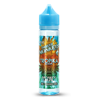 12 Monkeys Tropika Iced E-liquid 50ml Short Fill