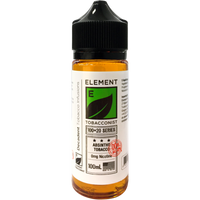 Element Tobacconist: Absinthe Tobacco 0mg 100ml Short Fill E-liquid