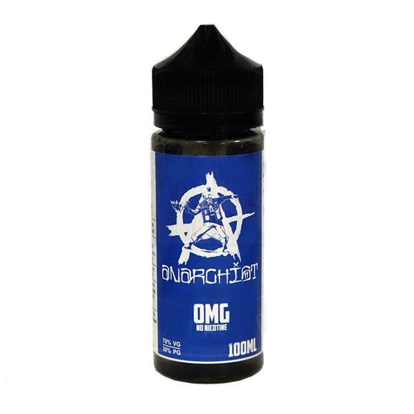 Anarchist Blue 0mg Short Fill - 100ml
