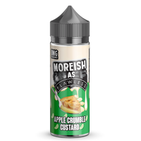 Moreish as Flawless Apple Crumble 100ml Short Fill E-liquid