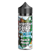 Moreish Puff Iced Apple & Mango Sherbet 0mg 100ml Short Fill E-Liquid
