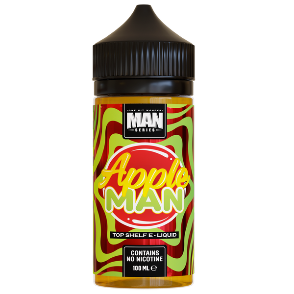 One Hit Wonder Apple Man 0mg 100ml Short Fill E-Liquid