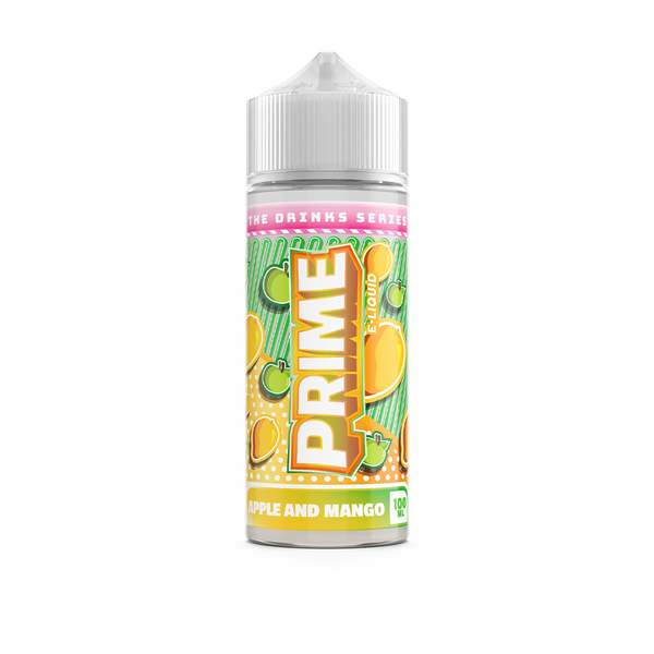 Prime E-Liquids Apple & Mango 0mg 100ml Short Fill E-Liquid