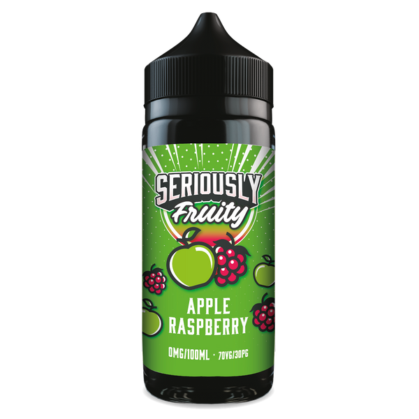 Doozy Vape Seriously Fruity: Apple Raspberry 0mg 100ml Short Fill E-Liquid