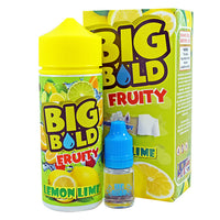 Big Bold Fruity: Lemon Lime 0mg 100ml Short Fill E-Liquid