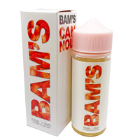 Bam's Strawberry Cannoli 0mg 100ml Short Fill