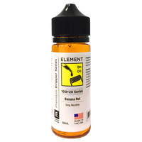 Banana Nut E-liquid by Element 100ml Short Fill