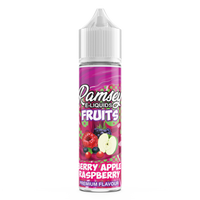 Ramsey E-Liquids Fruits: Berry Apple Raspberry  0mg 50ml Short Fill E-Liquid