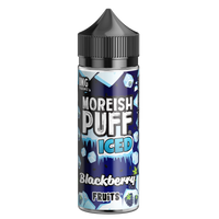 Moreish Puff Iced Blackberry Fruits 0mg 100ml Short Fill E-Liquid