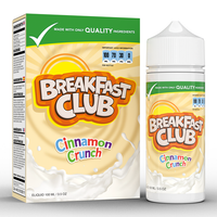 Breakfast Club Cinnamon Crunch 0mg 100ml Short Fill E-Liquid