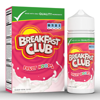 Breakfast Club Fruit Hoops 0mg 100ml Short Fill E-Liquid