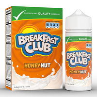 Breakfast Club Honey Nut 0mg 100ml Short Fill E-Liquid