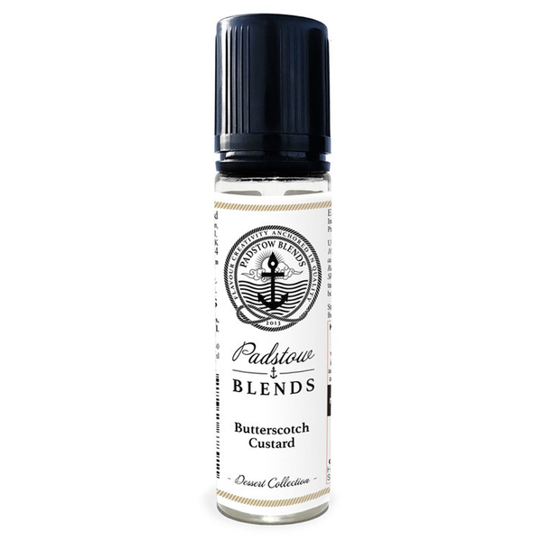 Padstow Blends Butterscotch Custard 0mg 50ml Short Fill E-Liquid