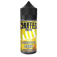 Chuffed Sweets: Pineapple Chew 0mg 100ml Short Fill E-Liquid