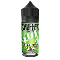 Chuffed Sweets: Spearmint Chew 0mg 100ml Short Fill E-Liquid
