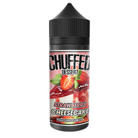 Chuffed Dessert: Strawberry Cheesecake 0mg 100ml Short Fill E-Liquid