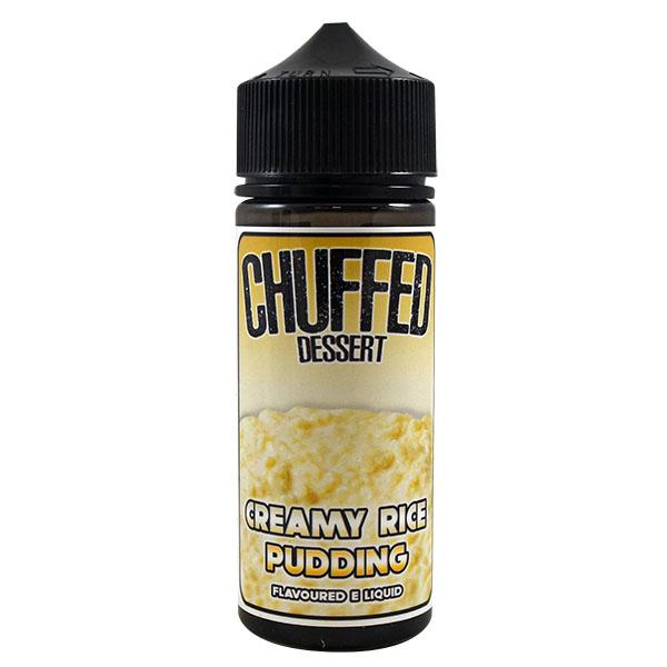 Chuffed Dessert: Creamy Rice Pudding 0mg 100ml Short Fill E-Liquid