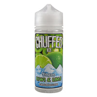 Chuffed Ice: Frozen Kiwi & Lime 0mg 100ml Short Fill E-Liquid