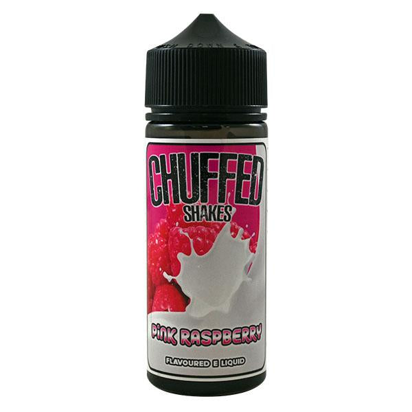 Chuffed Shakes Pink Raspberry 0mg 100ml Short Fill E-Liquid