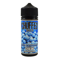 Chuffed Sweets: Blue Raspberry Chew 0mg 100ml Short Fill E-Liquid