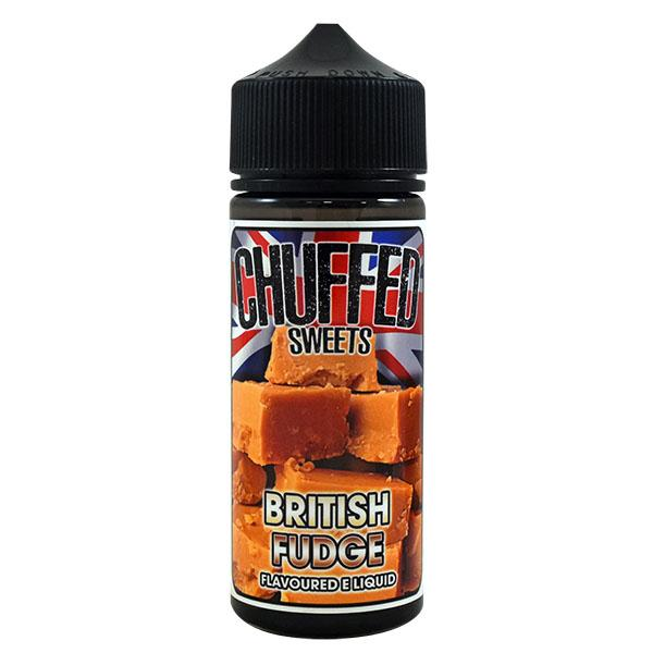 Chuffed Sweets: British Fudge 0mg 100ml Short Fill E-Liquid