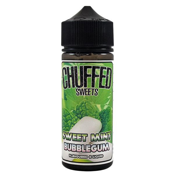 Chuffed Sweets: Sweet Mint Bubblegum 0mg 100ml Short Fill E-Liquid