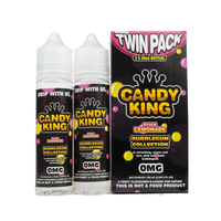 Candy King Twin Pack Bubblegum Collection Pink Lemonade 50ml Short Fills