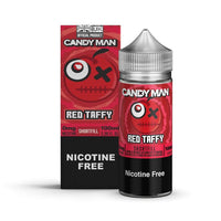 Red Taffy E-Liquid by Candy Man - Short Fills UK