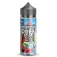 Moreish Puff Summer Cider on Ice Cherry 0mg 100ml Short Fill E-Liquid